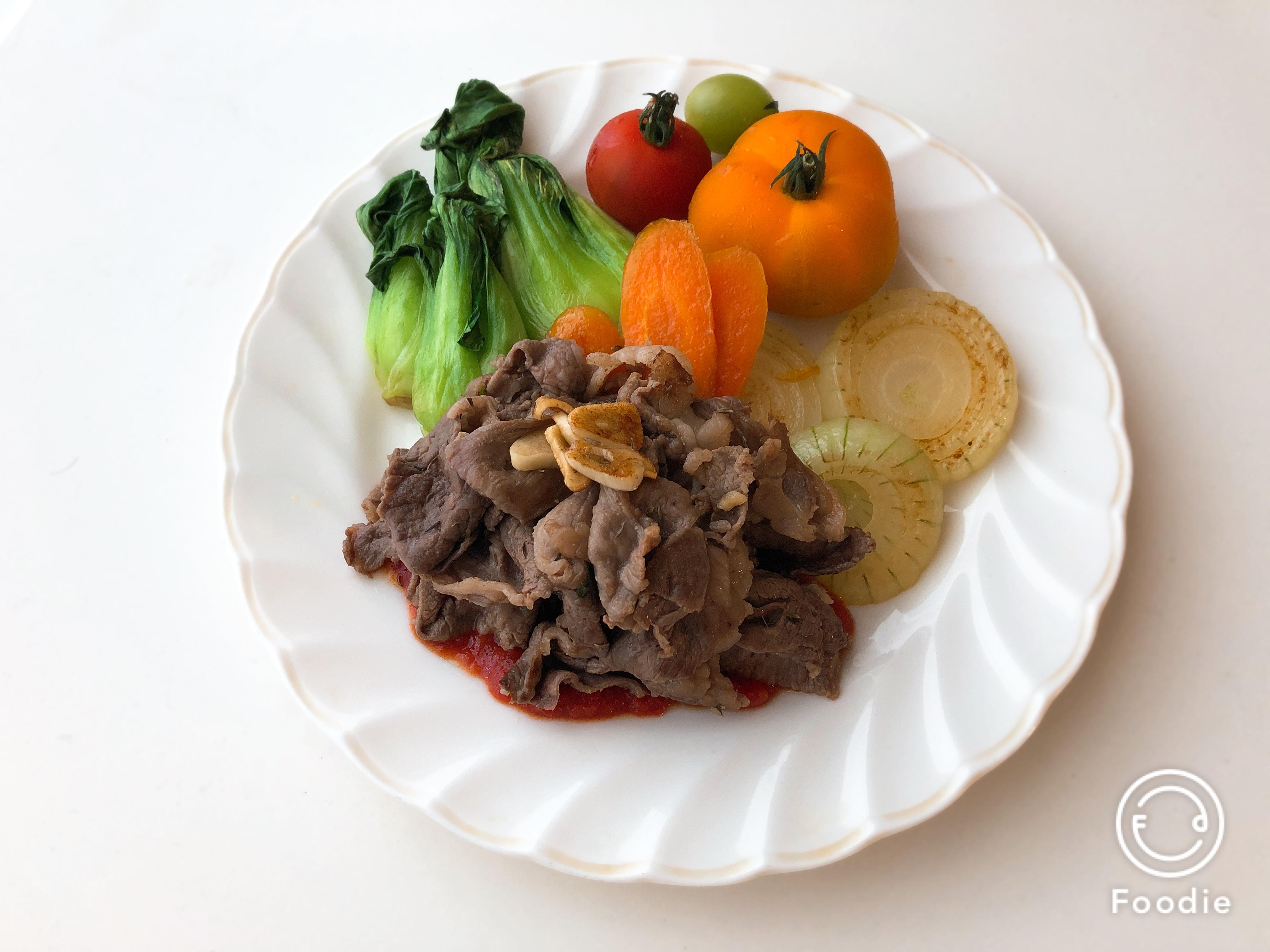 【地中海式ダイエットの食事例】牛肉は週1〜2日がベスト