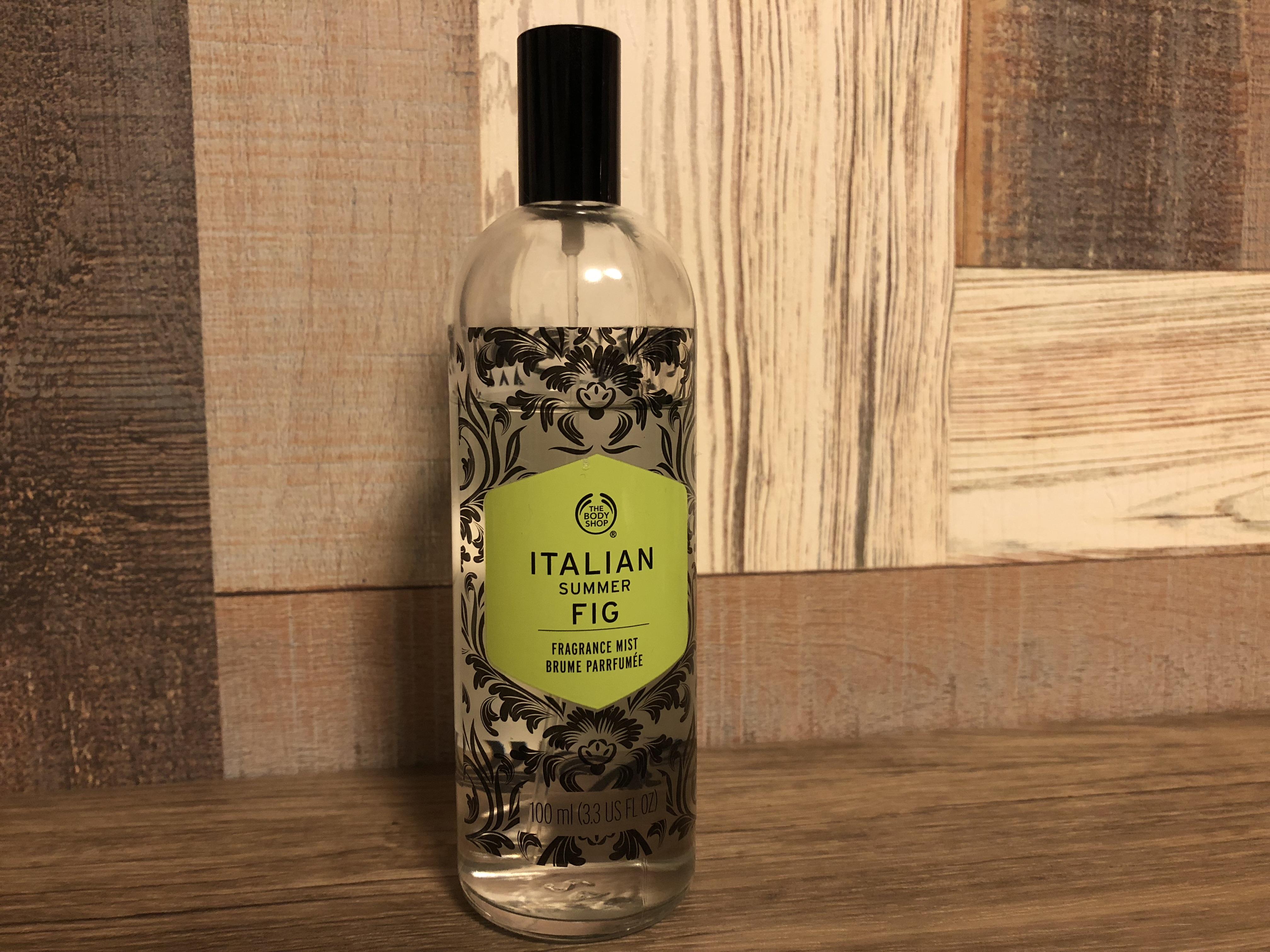 【ザ・ボディショップ】イタリアンサマーフィグの香り