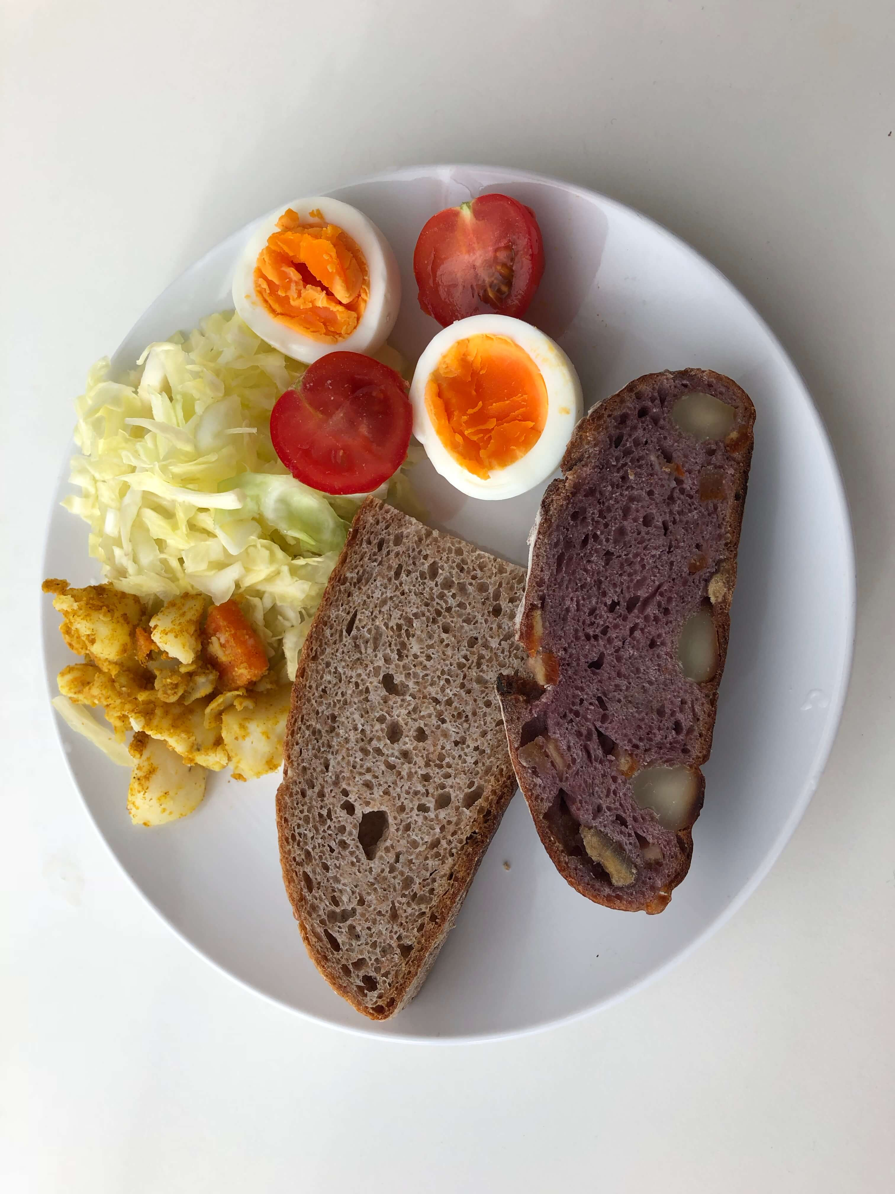 地中海式ダイエット中の朝食メニュー