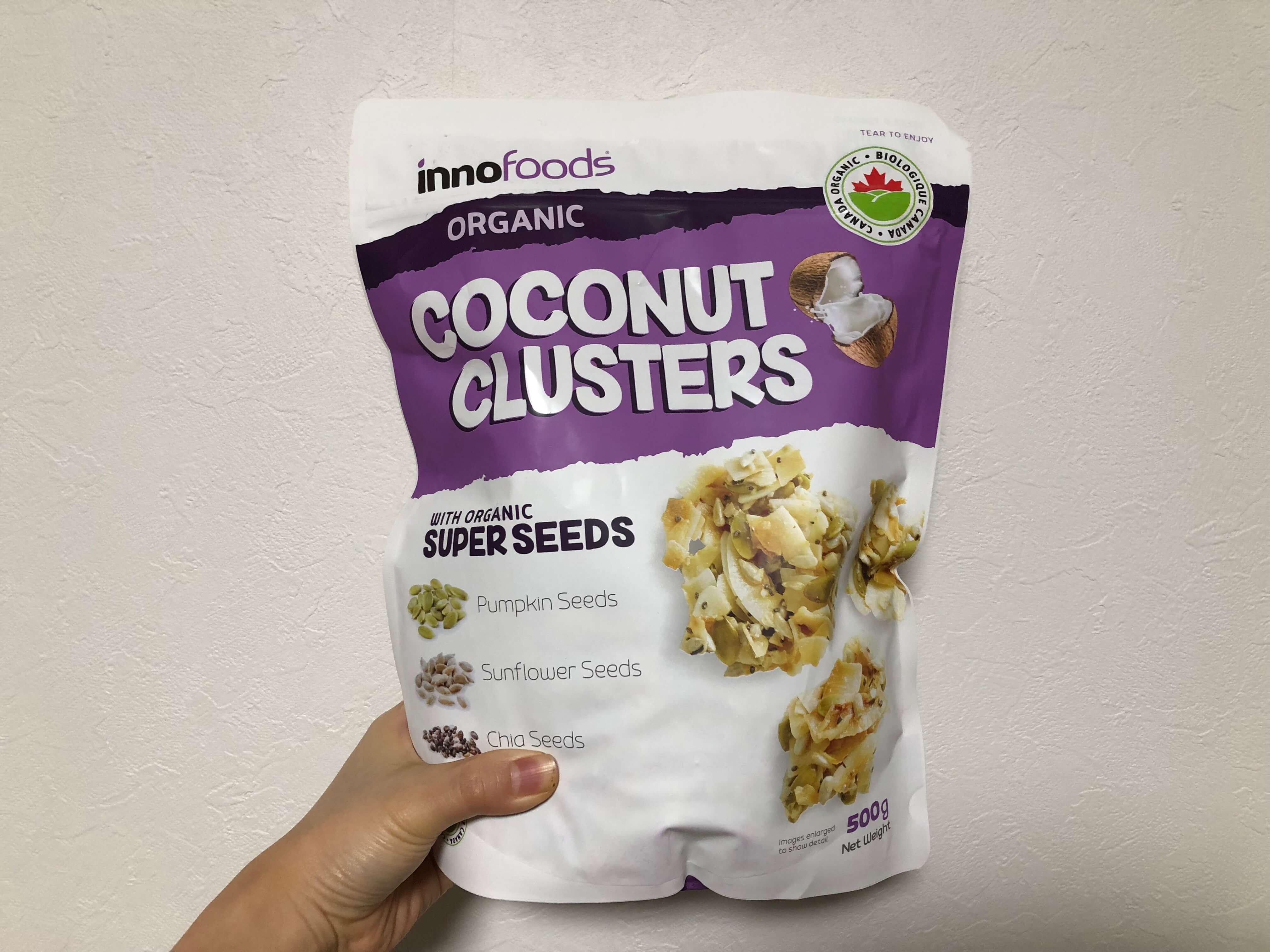 コストコ「ココナッツクラスターズ」はオーガニックで止まらない美味しさ。