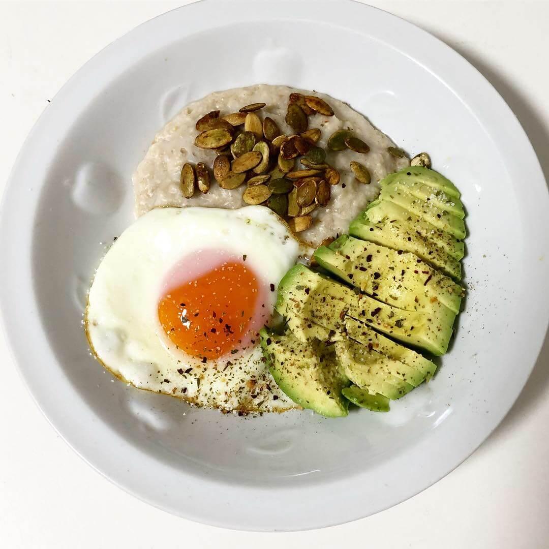 甘くないオートミールのレシピ【海外風】