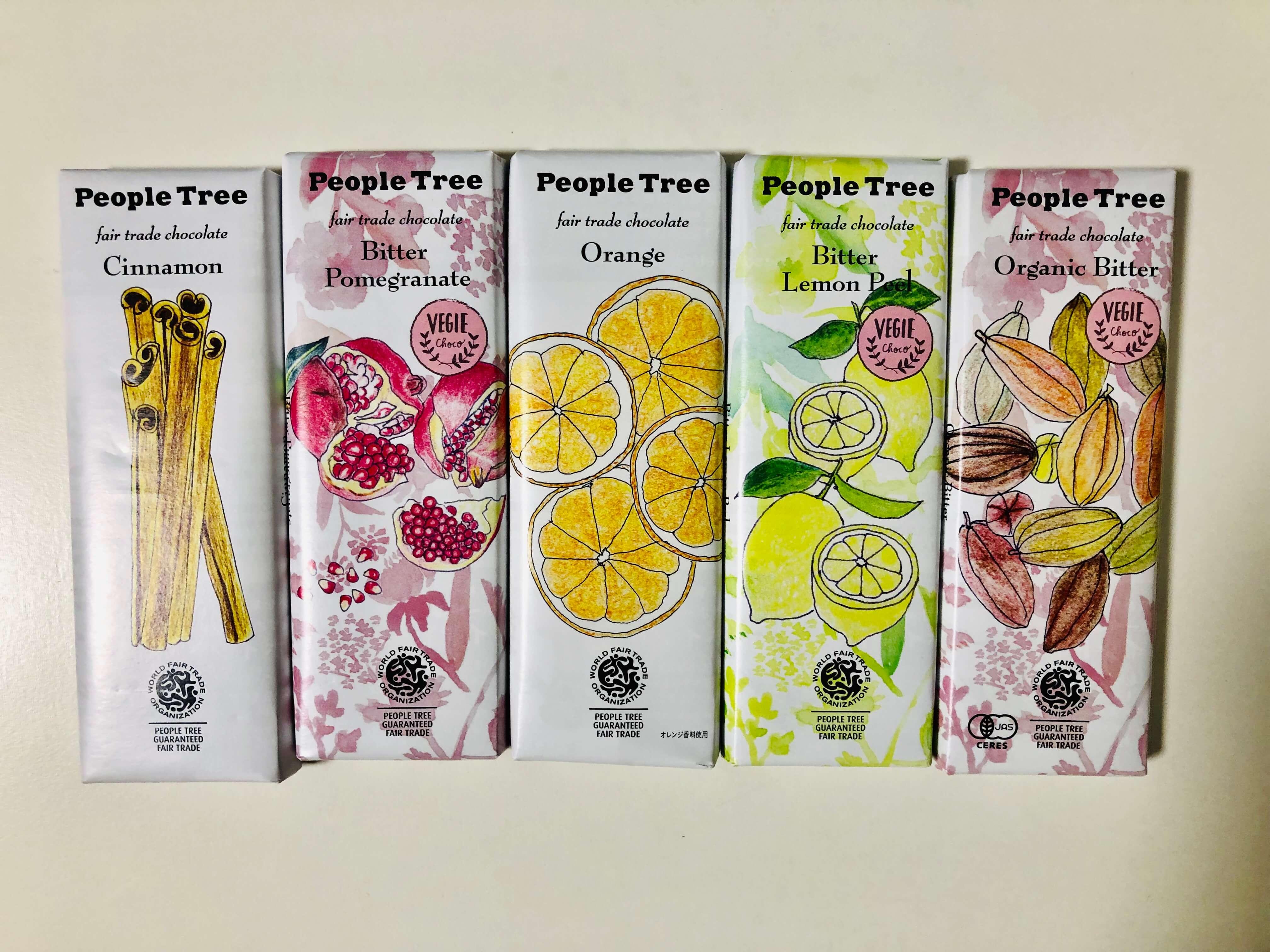 ピープルツリー(PeopleTree)のおすすめ種類とカロリー