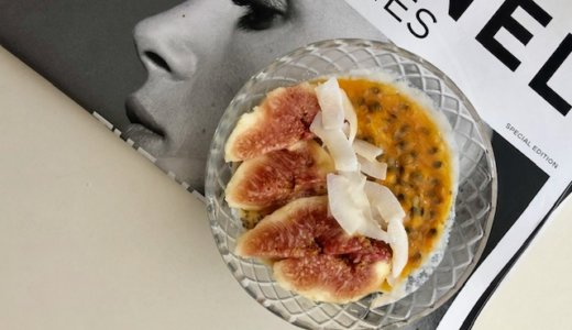 豆乳ヨーグルトで作るチアプディングで朝食