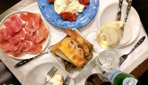 ローマ人気店「ロショーリ」で名物カルボナーラを食べました。